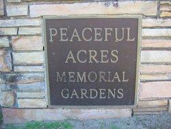 Peaceful Acres Memorial Gardens