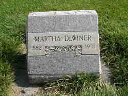 Martha Roseanna <I>White</I> DeWiner