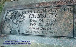 Tara Lynn Bowker Chesley