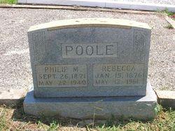 Rebecca <I>Sellers</I> Poole