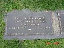 Paul Alan Lewis