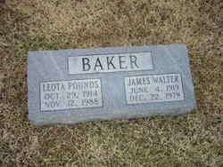 Leota <I>Pounds</I> Baker