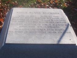 Adele <I>Blanc</I> Buckner