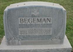Mary Elizabeth <I>Crew</I> Begeman