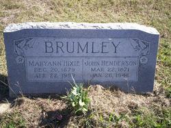 Maryann Hixie <I>Crew</I> Brumley