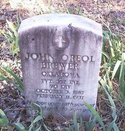 John Oreol Brewer