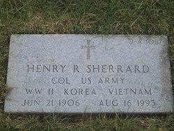 Col Henry R Sherrard