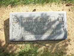 Lottie Pearl <I>Cordingley</I> Daniel