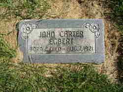 John Carter Egbert