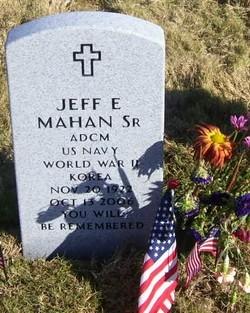 Jeff E Mahan Sr.