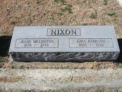 Jessie <I>Millington</I> Nixon