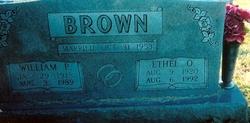 Ethel Octavia <I>Peters</I> Brown
