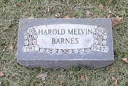 Harold Melvin Barnes