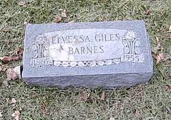 Elvessa <I>Giles</I> Barnes