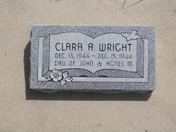 Clara Agnes Wright