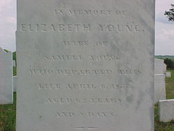 Elizabeth <I>Bonner</I> Young
