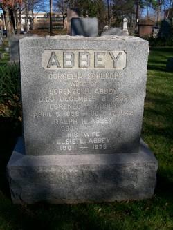 """Cornelia """"Nellie"""" <I>Schenck</I> Abbey"""