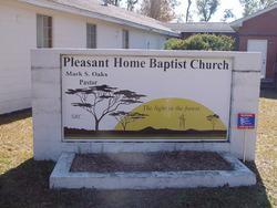 Pleasant Home Baptist Church Cemetery
