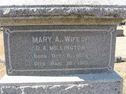 Mary Ann <I>Smith</I> Millington