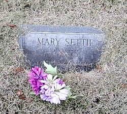 Mary <I>Settie</I> Annis