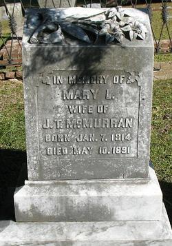 Mary Louisa <I>Turner</I> McMurran