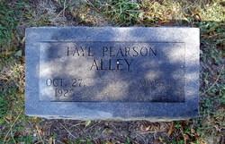 Lalla Faye <I>Pearson</I> Alley
