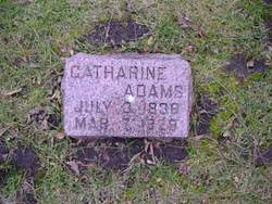 Catharine <I>Karnes</I> Adams