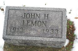 John Henry Lemon