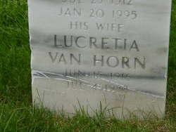 Lucretia <I>Van Horn</I> Adams