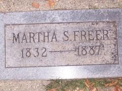 Martha <I>Slack</I> Freer