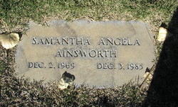 Samantha Angela Ainsworth