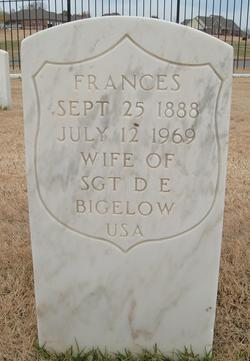 Frances A. <I>Donnelly</I> Bigelow