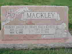Mary Eliza <I>Curtis</I> Mackley