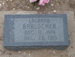 LaGrand Barlocker