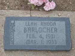 Leah Rhoda Barlocker