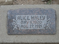 Alice Haley