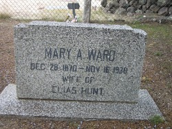 Mary Ann <I>Ward</I> Hunt