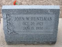 John W Huntsman