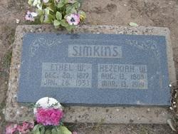 """Hezekiah Walker """"Kie"""" Simkins"""