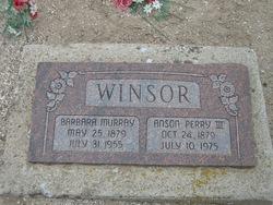 Barbara <I>Murray</I> Winsor