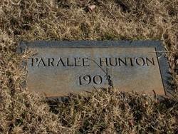 Paralee Hunton