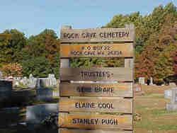 Rock Cave Cemetery