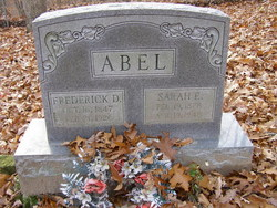 Sarah Elizabeth <I>Anderson</I> Abel