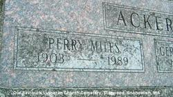 Perry Miles Acker