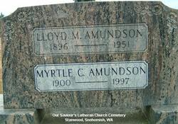 Myrtle C <I>Thompson</I> Amundson