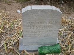 Mary Ann <I>Terry</I> Huntsman