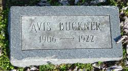 Avis  G Buckner