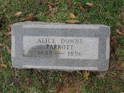 Alice Henrietta <I>Downs</I> Parrott