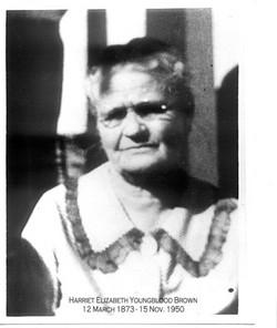 Harriet Elizabeth <I>Youngblood</I> Brown
