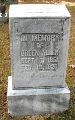 """William Green """"Green"""" Allen"""